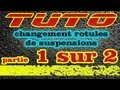 (1/2) TUTO changer rotules de suspensions Renault (how to replace ball joint) HD