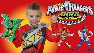Power Rangers Dino Super Charge Playtime