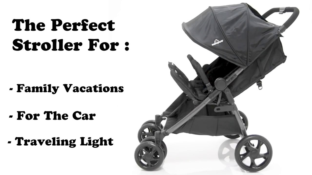 How to use Costway foldable aluminum double baby travel stroller (BB4676)