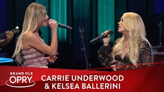 Carrie Underwood &amp Kelsea Ballerini - &quotWalkaway Joe&quot Live at the Opry Opry