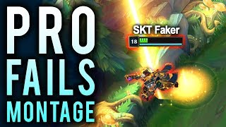 Best of Pro Players Fails | League of FAILS Montage