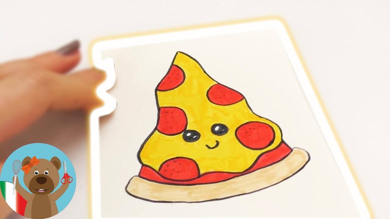 Pizza Kawaii Fai Da Te Junk Food Per Inviti E Biglietti Di