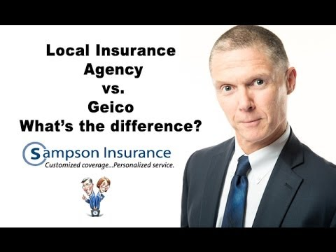 Local Insurance Agency vs. Direct Carrier - What's the difference?