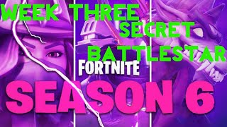 Fortnite Battle Royale | Season 6 Week 3 Challenge | Hunting Party Secret Battlestar Location Guide