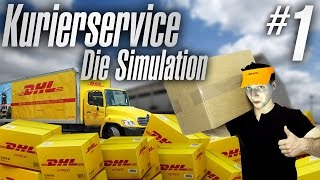 PAKETDIENST-SIMULATOR | Kurierservice - Die Simulation #01 | [Deutsch/German]
