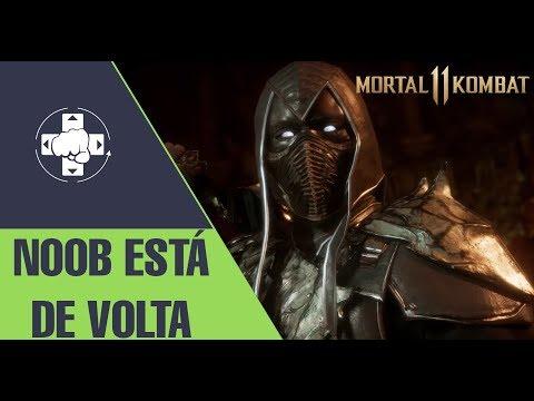 MORTAL KOMBAT 11: NOOB VOLTOU... ENREDO, CURIOSIDADES E MAIS thumbnail