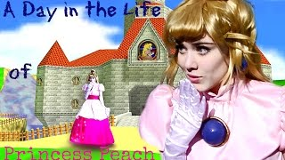 ♥a day in the life of princess peachcosplay video♥