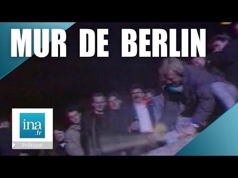 Le Mur de Berlin est détruit par les Allemands - Archive INA