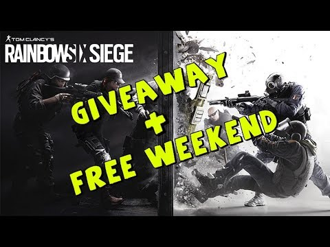 Playing with Sponsors  Rainbow Six Siege   FREE WEEKEND!   1080p 60fps