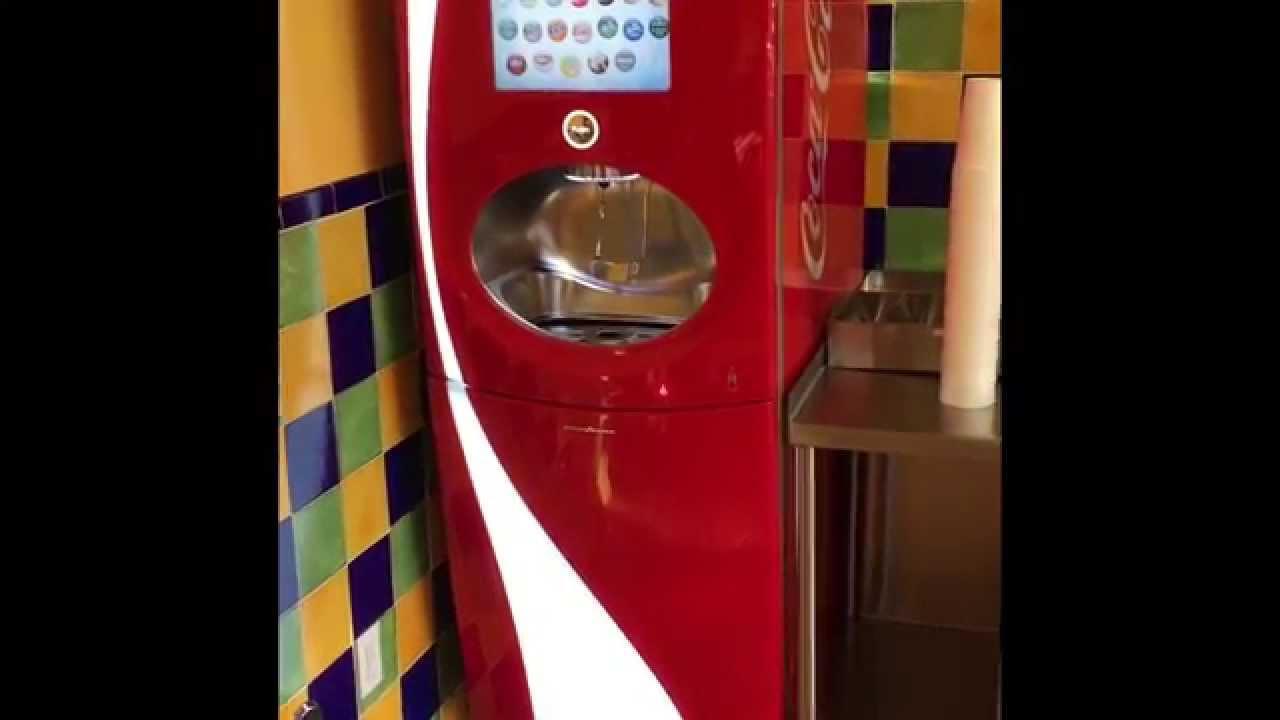 How to use the freestyle coke machine at La Sirenita ...