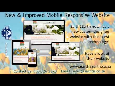 Earth2Earth Organics now has a new and improved mobile responsive website!