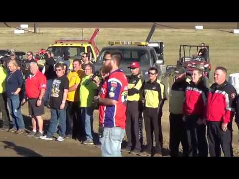 Grays Harbor Raceway, 2018 Fred Brownfield Classic, Night 1, Opening Ceremonies