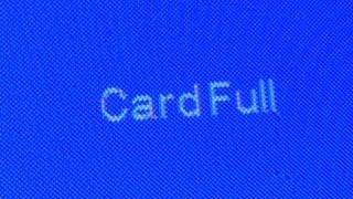 SJ4000 using a 64GB Memory Card (Card Full, 4GB files)