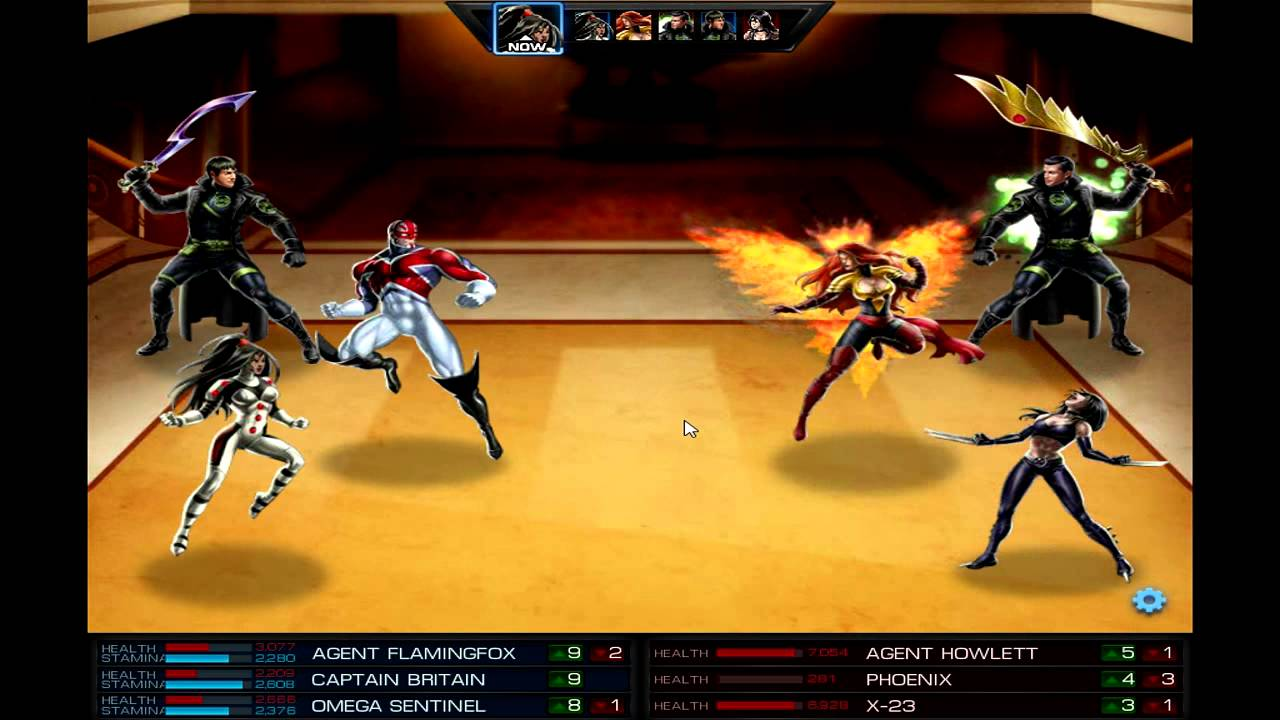 Marvel Avengers Alliance PVP - Captain Britain/Omega ... X 23 Marvel Avengers Alliance
