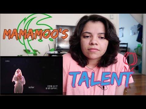 MAMAMOO'S TALENT [Reaction]
