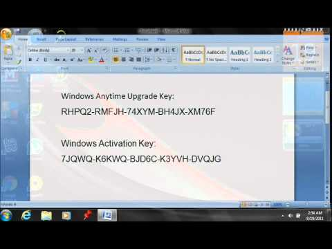 How To Get Windows 7 Home Premium FREE!