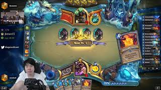 DisguisedToastHS --  Janet Rejects Toast? monkaS #Hearthstone Moment
