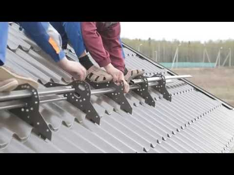 Как правильно ставить снегозадержатели на крышу