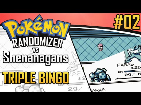 Pokemon Randomizer Triple Bingo vs. Shenanagans #2