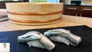 Gizzard Shad Sushi   How To Make Sushi Series