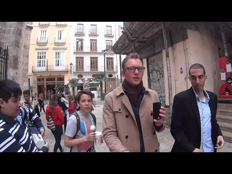 Walking through Valencia, Spain and Talking How to Change Yourself to Get What You Want