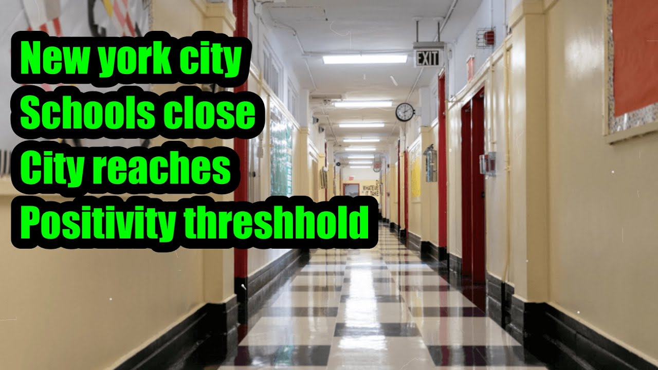 NYC schools to close as city reaches 3 percent test positivity ...