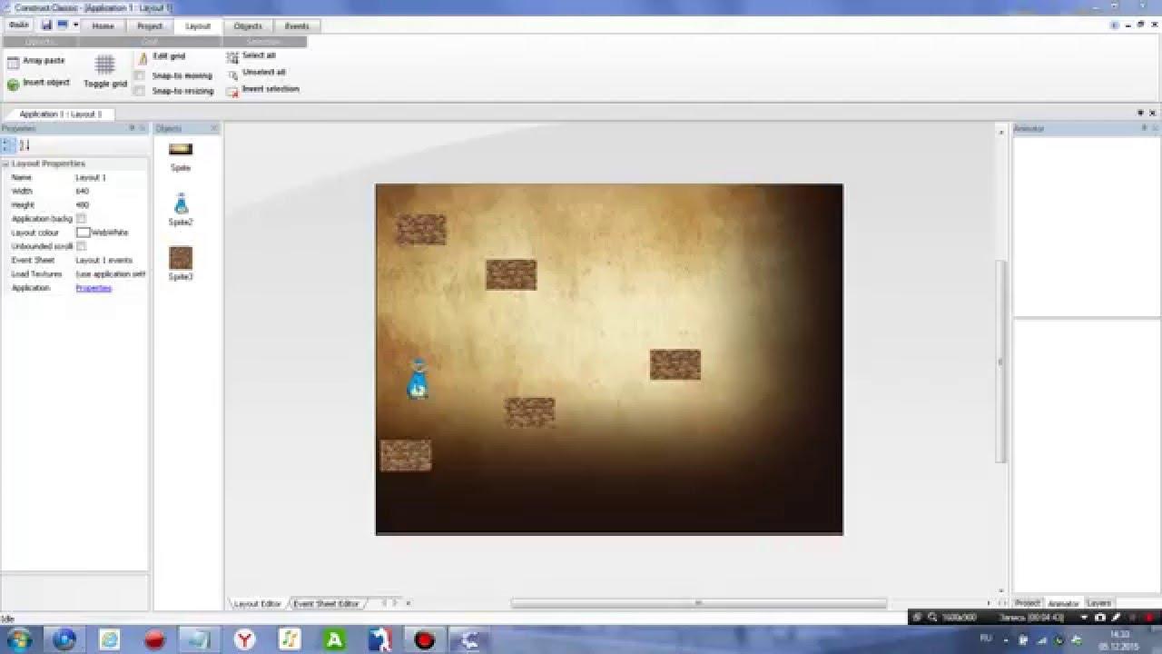 Программа для сотворения игр на комп 2d
