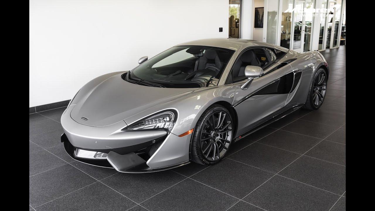 """2017 """"Blade Silver"""" McLaren 570S Coupe"""