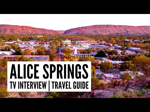 Top things to do in Alice Springs - The Big Bus tour and tra