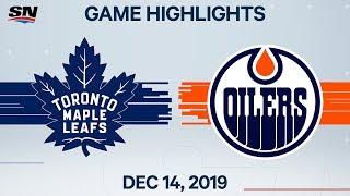 NHL Highlights   Maple Leafs vs Oilers – Dec. 14, 2019