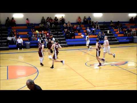 Rocky DiBernardo, #1, burgundy jersey, Oak Hall School