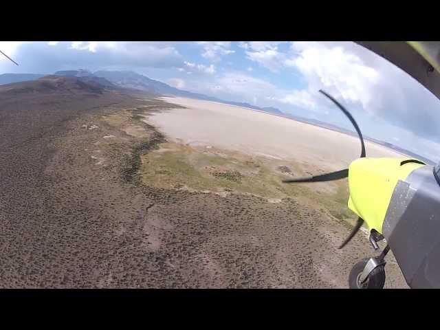 ICP Savannah landing @ camp in the Alvord Desert!
