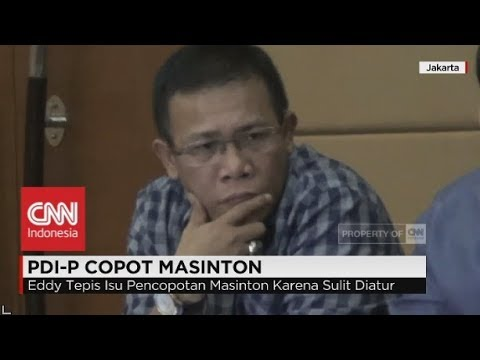 PDIP Copot Masinton dari Pansus Angket KPK