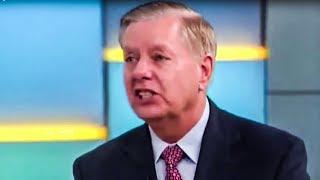 Lindsay Graham Attacks AOC In Idiotic Defense Of Trump Tweets