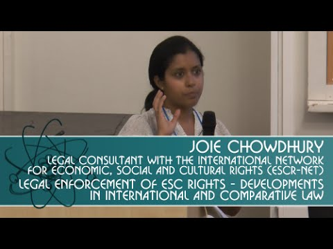 Legal enforcement of ESC rights - Developments in International and Comparative Law.