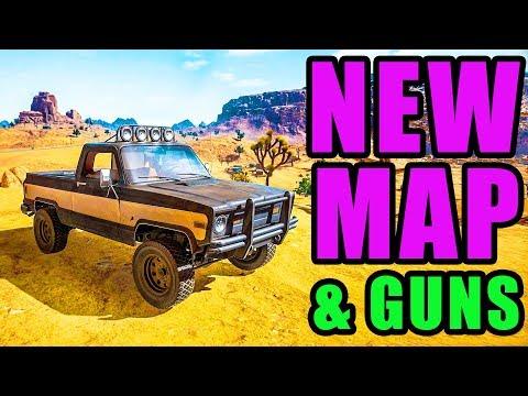 HUGE UPDATE - New Map & Guns! ⚠️ Playerunknown's Battlegrounds New UPDATE Test Server Gameplay thumbnail