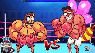 Troll Face Quest USA Adventure Level #14 - Troll Boxing - Gameplay Walkthrough