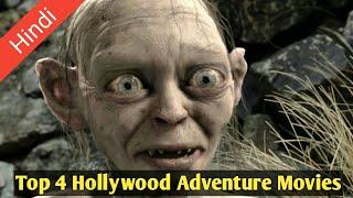 Top 4 Hollywood Adventure Movies | हिंदी में उपलब्ध है हॉलीवुड की ये धांसू फिल्म