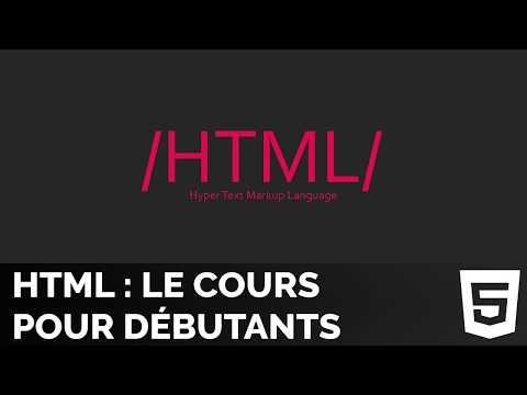 Tutoriel HTML5 Complet Pour Débutants - Créer Un Blog En HTML