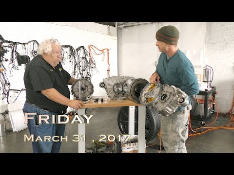 EVTV Friday Show - March 31, 2017.  Inside the Tesla Drive Motor