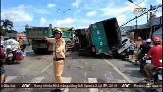 60 giây ngày hôm nay - Chiều ngày 31/08/2019 - Tai nạn liên hoàn trên đường về miền tây
