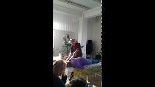 Креольский массаж от Романовича Александра(Хочу пояснить несколько моментов для тех, кто пытается это видео принять, как руководство и просто интересу..., 2016-04-11T22:10:13.000Z)