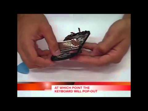 Blackberry Q10 Keyboard Repair Replacement Disassembly and Reassembly Walkthrough Instructions