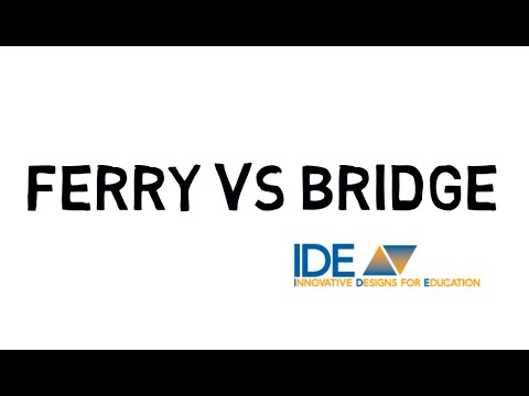 Teacher as Ferry vs. Teacher as Bridge
