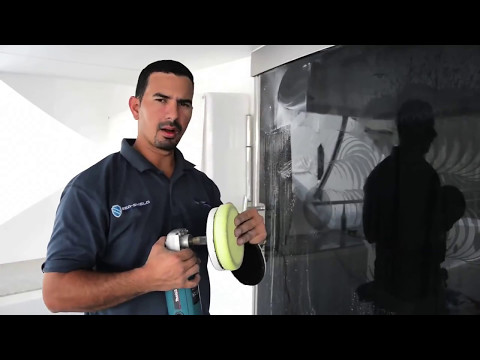 How to Polish and apply a Coating to Boat and Yacht Windows