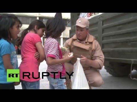 Российские военные доставили