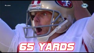 Longest Field Goals in NFL History (60+ yards) | 2018 Edition