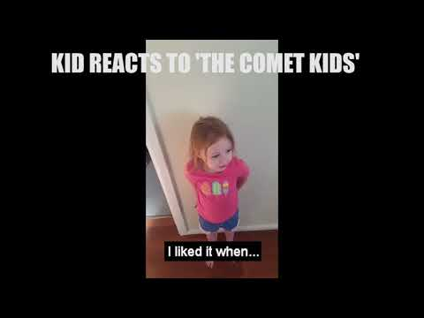 Kid reacts to The Comet Kids movie 2