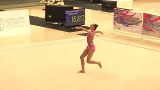 Camilla Feeley - Hoop - Team/AA - 2018 Pacific Rim Championships