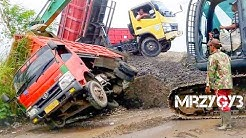 CRAZY Excavator And Dump Truck Accident Recovery